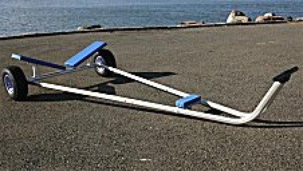 画像1: スナイプ級用船台「ディンギーランチャー」 (1)