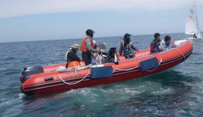 画像1: インフレータブルボート  BCR580Rib